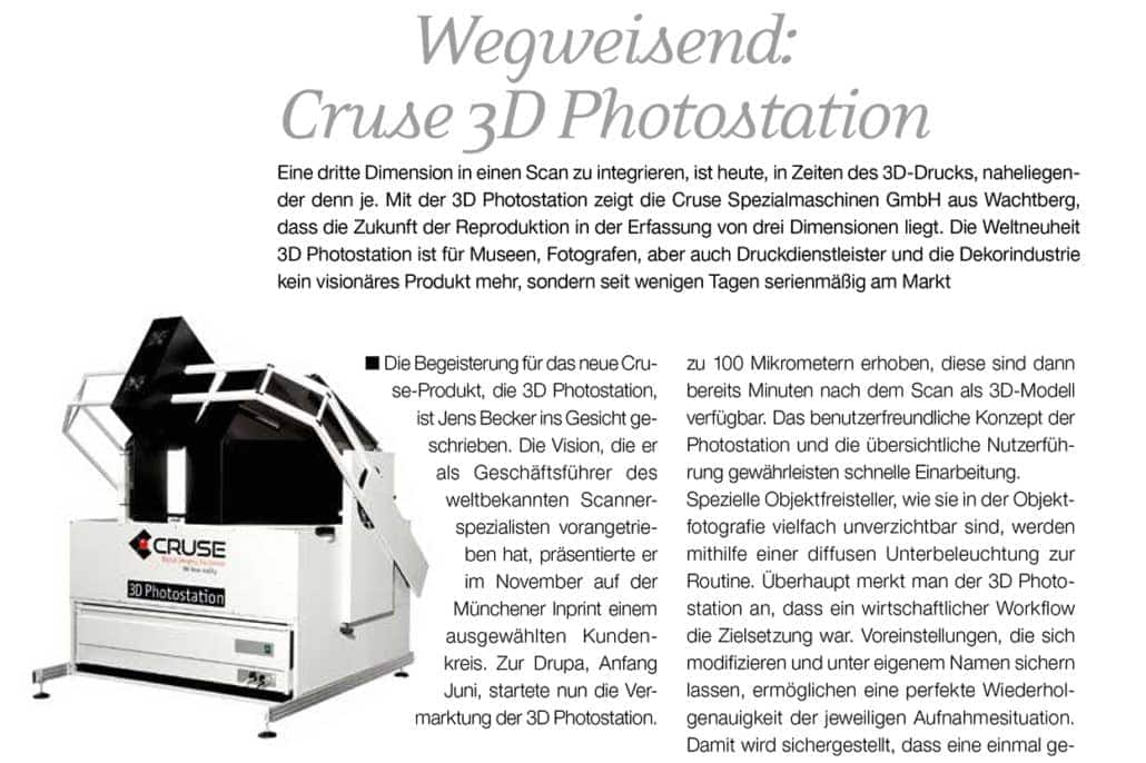 FAP 316 Cruse Photostation